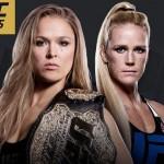 Ronda Rousey vastaan Holly Holm tammikuussa