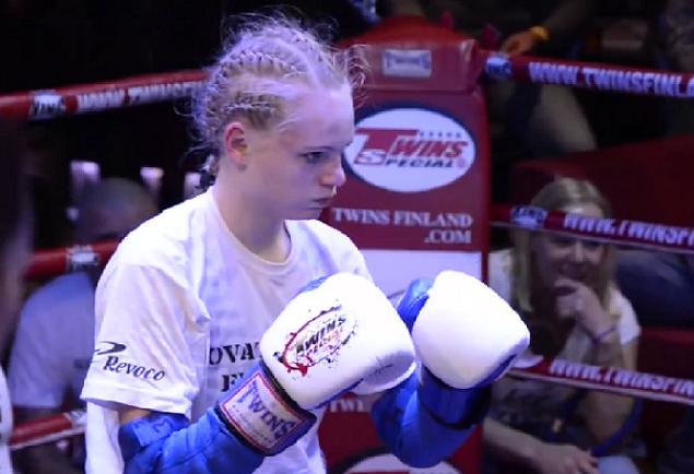 Sanni Nurmiselle junioreiden mestaruus thainyrkkeilyn Royal World Cupissa