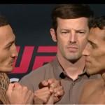 UFC Fight Night 74:n pääottelu keskeytyi Charles Oliveiran ruokatorven repeämään