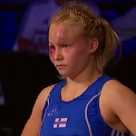 Petra Ollille MM-hopeaa