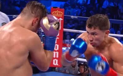 Gennady Golovkin jälleen voittoon – katso ottelun ratkaisu