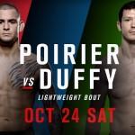 UFC Dublinin pääottelu Joe Duffy vastaan Dustin Poirier on peruttu