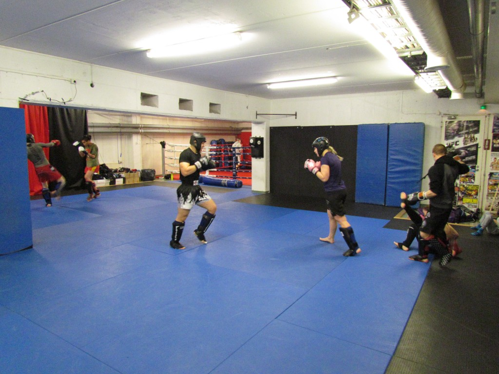 Sparria KBT Fight Centerillä