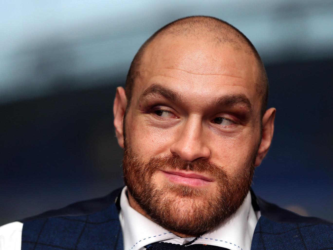 Tyson Fury menettää IBF-mestaruusvyönsä