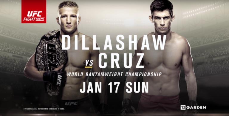 UFC Fight Night: Dillashaw vs. Cruz