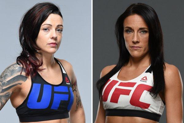 Ensimmäinen UFC:n naisten kärpässarjan ottelu kesäkuussa