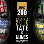 UFC 200: Miesha Tate vs. Amanda Nunes