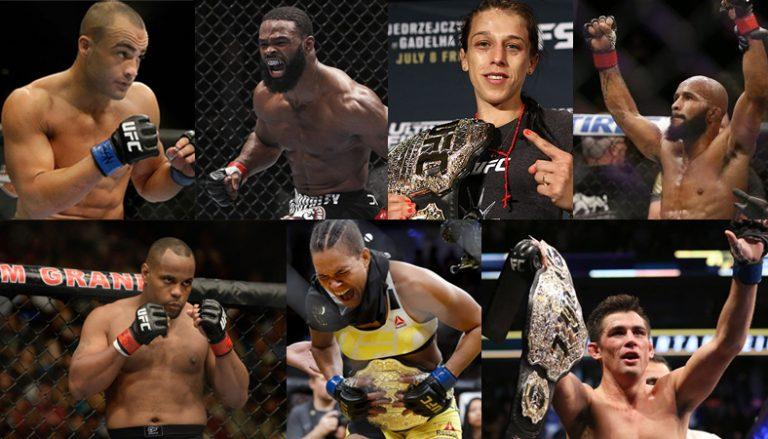 UFC:n loppuvuosi täynnä mestaruustaistoa