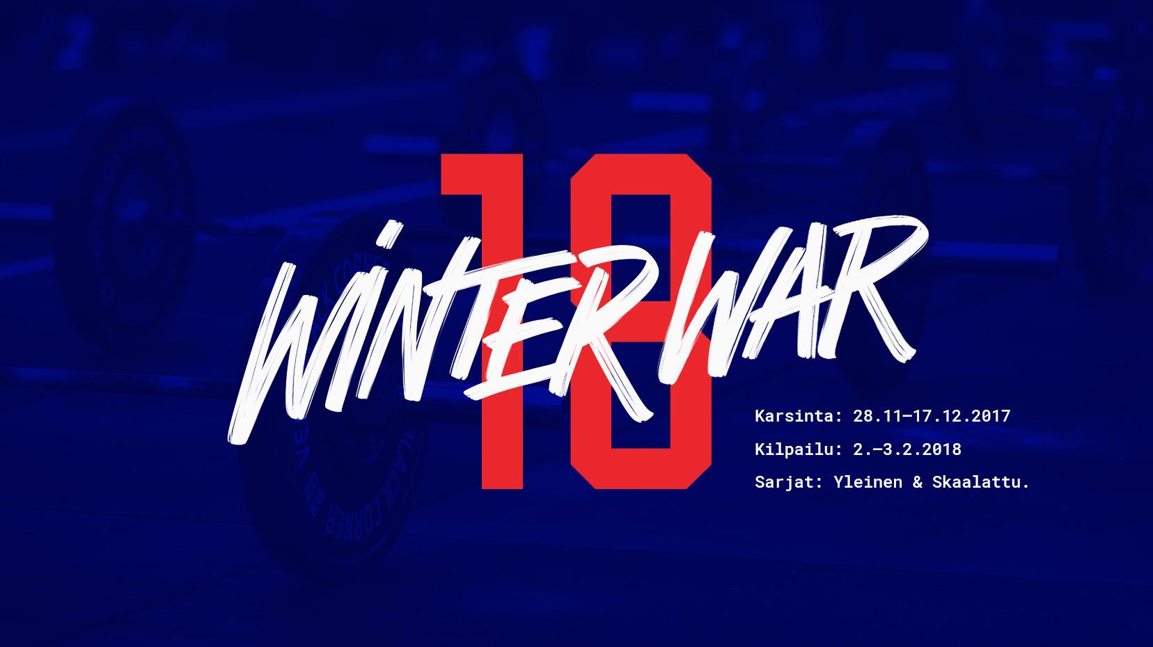 CrossFit Winter War 2018