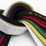 Taekwondon vöiden värit